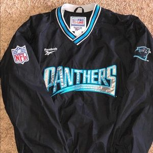Pro line authentic Carolina Panthers windbreaker.